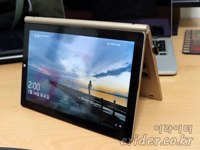윈도우10 + 안드로이드를 품고 키보드 달린 태블릿, 태클라스트 Tbook 10 plus V2.0