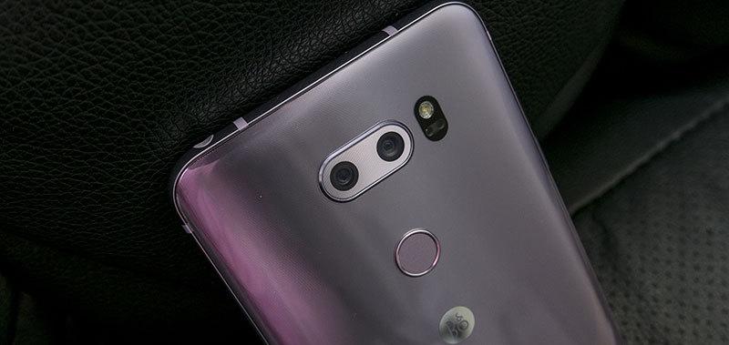 LG V30 바이올렛 개봉기. 카메라 프리뷰