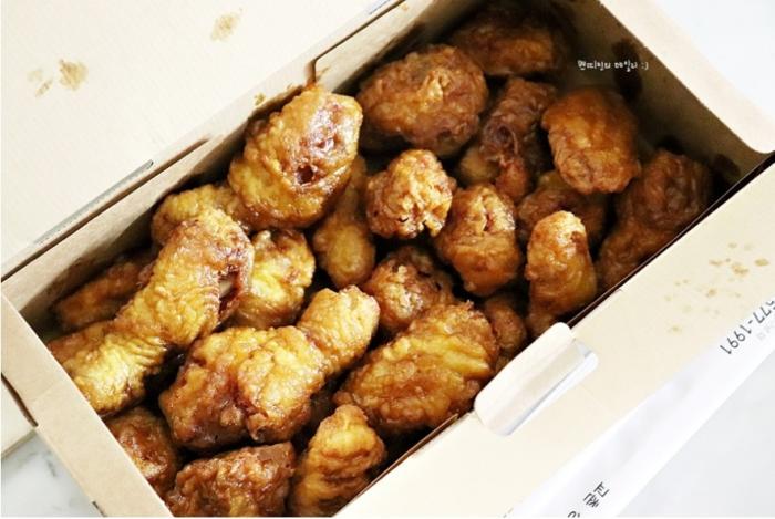 교촌 허니콤보가 하늘의 진리의 맛