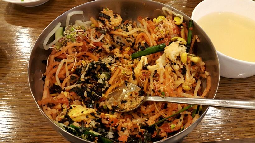 비벼진 비빔밥