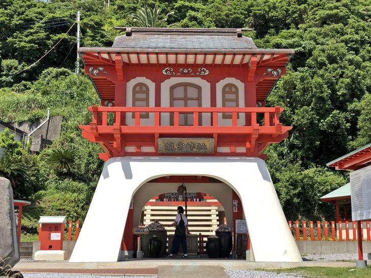 [이부스키여행] 일본 용궁설화의 발상지《용궁신사》