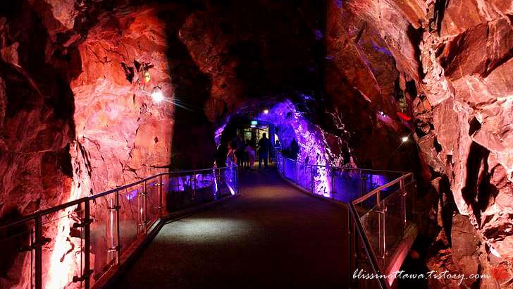 암석 터널입니다