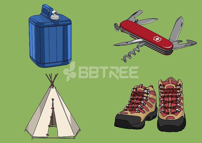 레트로 캠핑